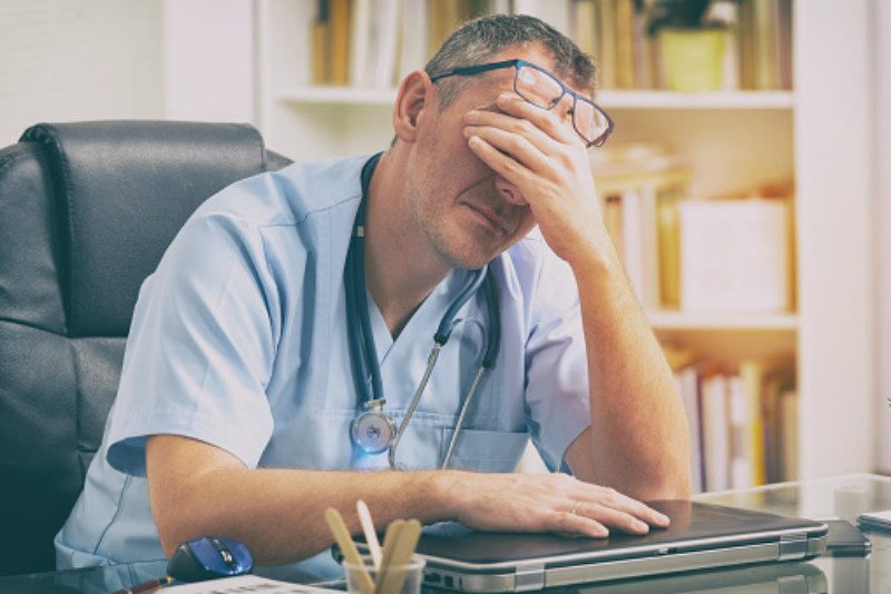 Physician burnout triples the incidence of medical errors