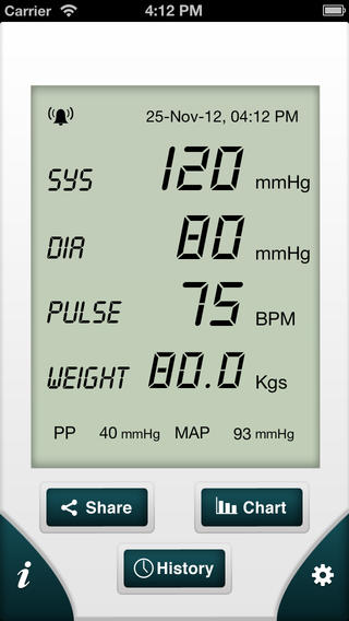 smart blood pressure smartbp bp tracker mobile app